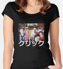 Dipset x Evangelion x Clique Women's Fitted Scoop T-Shirt