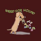 Wired Dachshund by Diana-Lee Saville