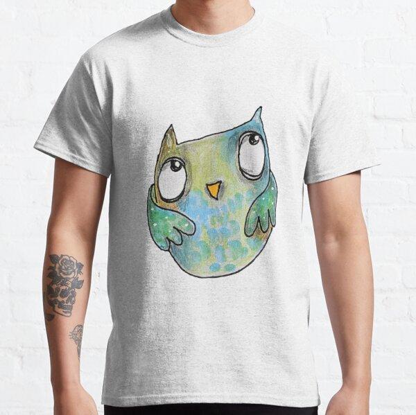 Peeking Owl Classic T-Shirt