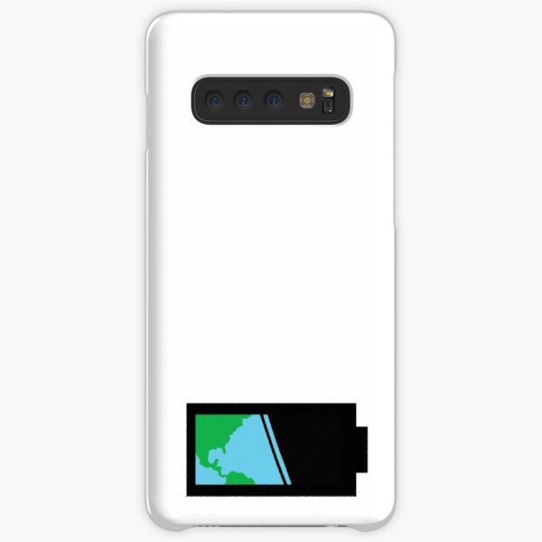 You Can't Recharge The Earth (Black) Samsung Galaxy Snap Case