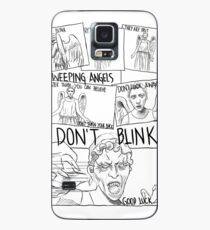 Weeping Angel Comic Case/Skin for Samsung Galaxy