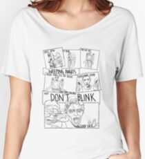 Weeping Angel Comic Women's Relaxed Fit T-Shirt