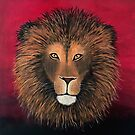 Lion Painting Print by ArtByMichelleT