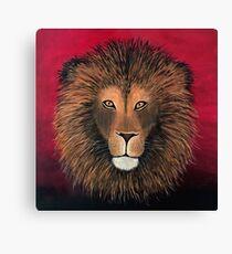 Lion Painting Print Canvas Print