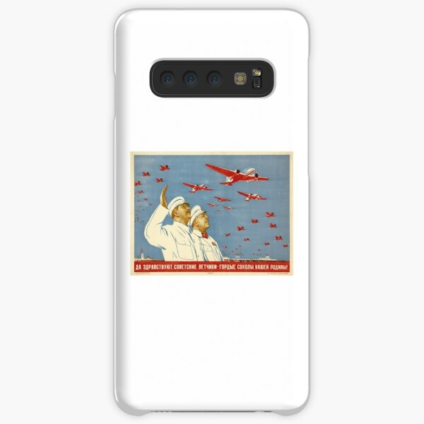Long live the Soviet pilots - the proud falcons of our Motherland. Poster, Lithography, Paper, 1938 Samsung Galaxy Snap Case