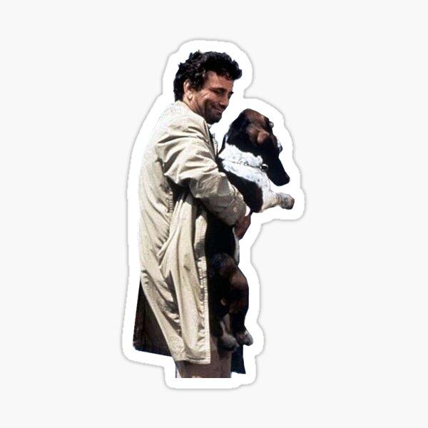 Columbo et chien Sticker