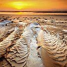 Sunrise ripples by Garth Smith
