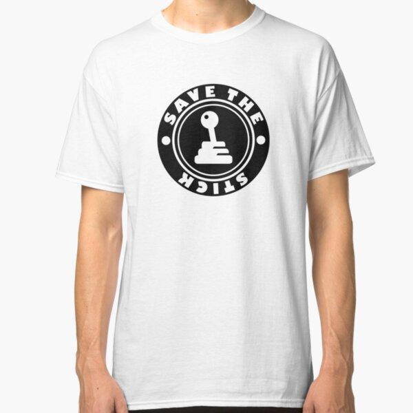 SAVE THE STICK-BLACK-STICKER Classic T-Shirt