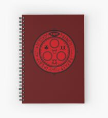 Halo of the Sun Spiral Notebook