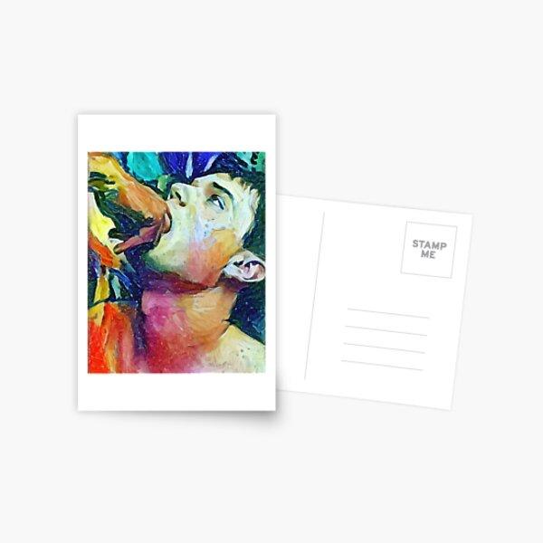 Reflex Testing Postcard