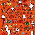 All the Spooky Things by doodlebymeg