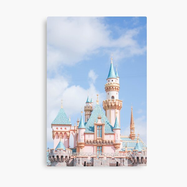 Afternoon Castle Canvas Print