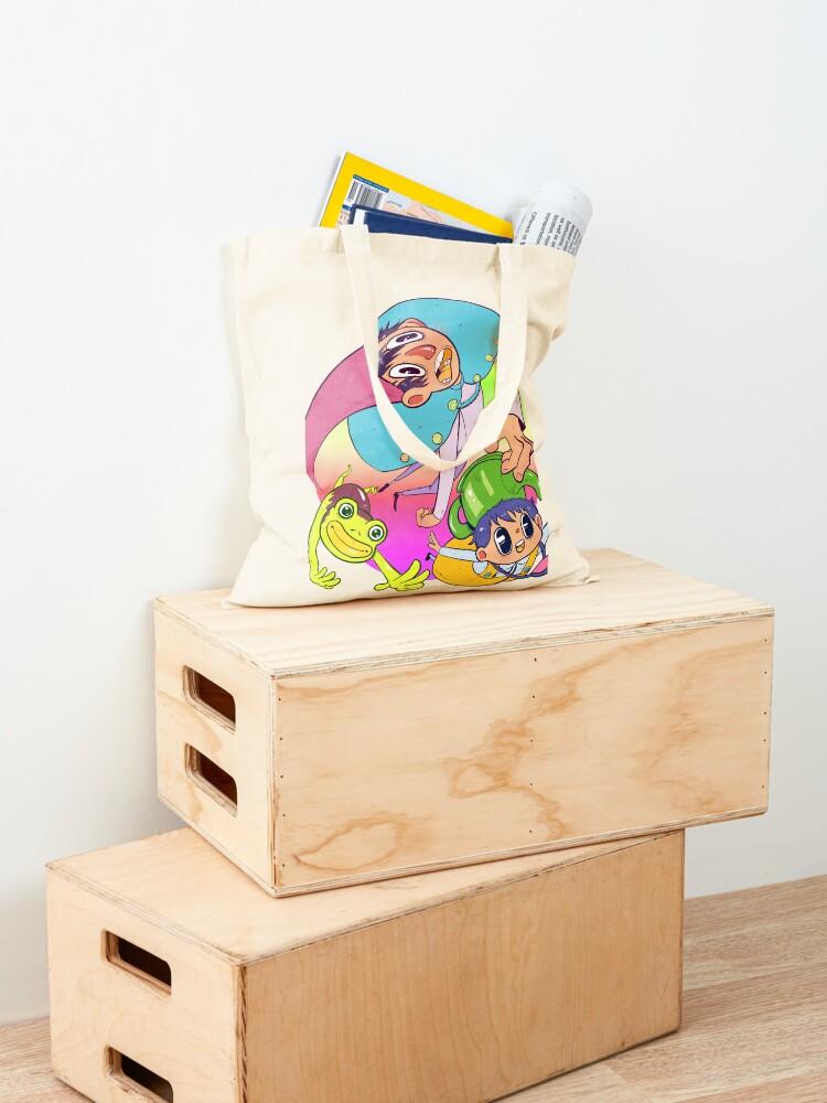 Alternate view of Over the Garden Warp Tote Bag