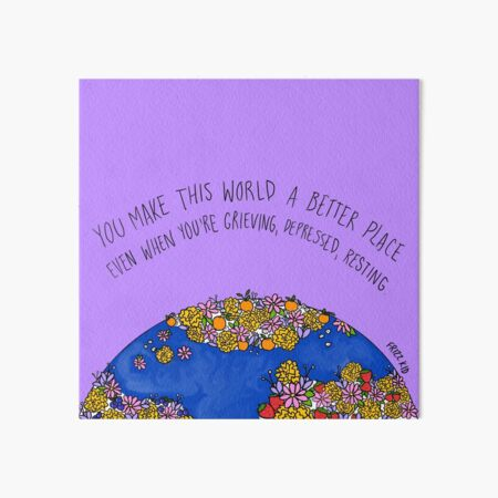 A Better Place Art Board Print