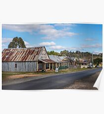 Hill End NSW Australia Poster