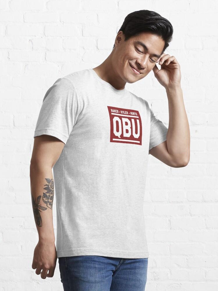 Alternate view of Oklahoma QBU Essential T-Shirt