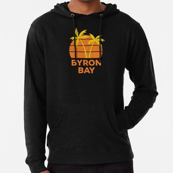 Byron Bay Retro Lightweight Hoodie