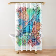 The Atlas of Dreams - Color Plate 233 Shower Curtain