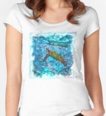 The Atlas of Dreams - Color Plate 234 Fitted Scoop T-Shirt