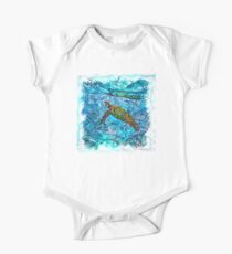The Atlas of Dreams - Color Plate 234 Short Sleeve Baby One-Piece