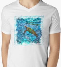 The Atlas of Dreams - Color Plate 234 V-Neck T-Shirt