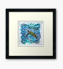 The Atlas of Dreams - Color Plate 234 Framed Print