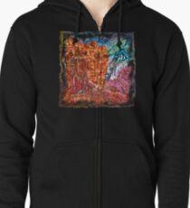 The Atlas of Dreams - Color Plate 235 Zipped Hoodie