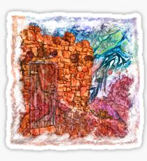 The Atlas of Dreams - Color Plate 235 Glossy Sticker