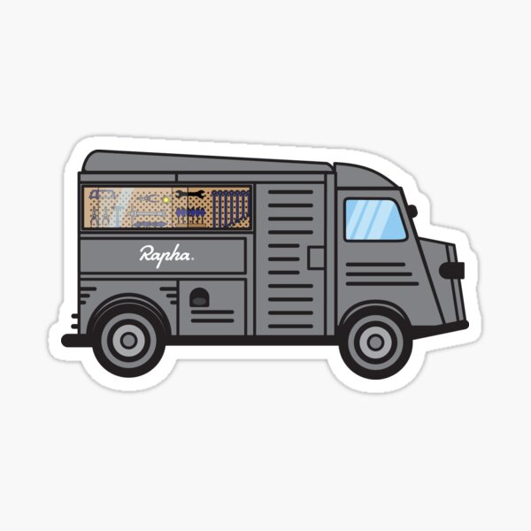 Rapha Truck: Atelier mobile Sticker