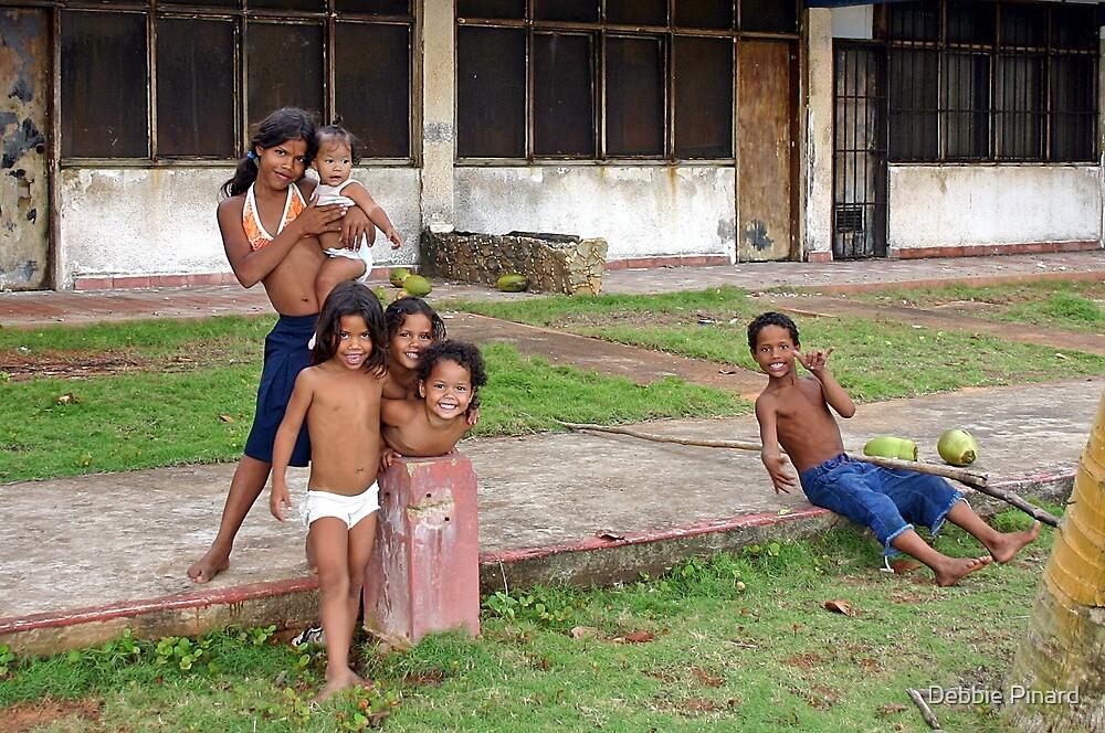 Babysitting - Margarita Island, Venezuela by Debbie Pinard