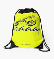 BRAAAP Drawstring Bag