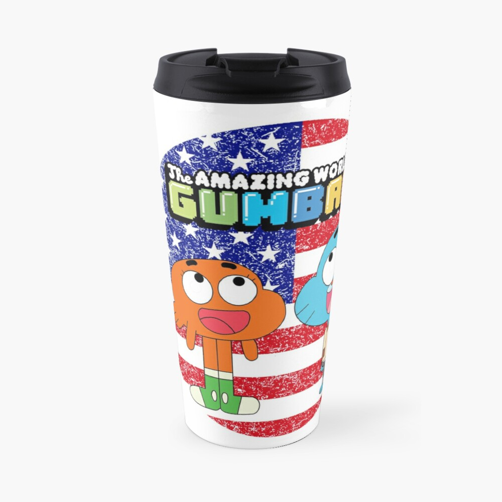The amazing world of Gumball™, Gumball and Darwin Travel Mug