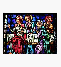 Friends With Jesus Photographic Print