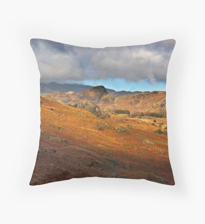 Langdale Valley Throw Pillow