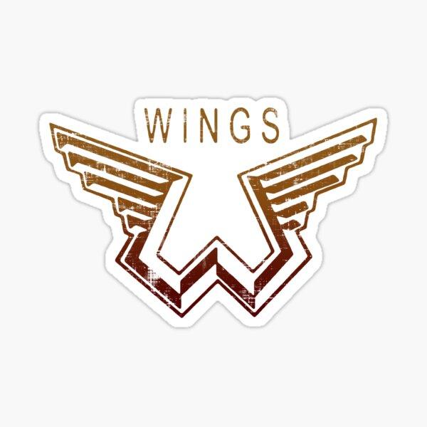 Paul McCartney Wings Sticker