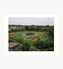 Sunken Gardens - Skegness Art Print
