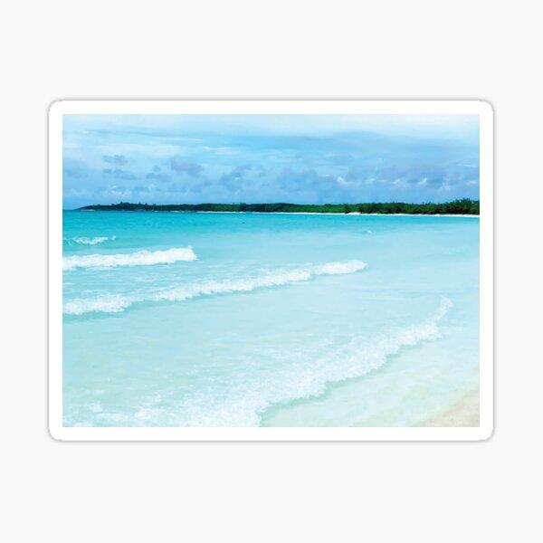 Ride the Waves by Jerald Simon (Music Motivation - musicmotivation.com) Sticker