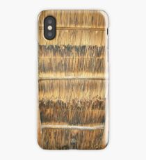 Thatched roof iPhone Case/Skin