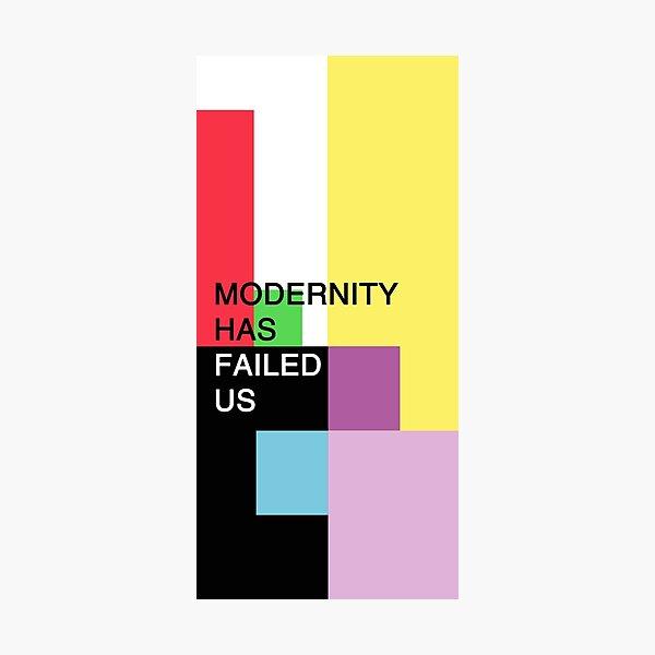 The 1975 - Modernity Has Failed Us Photographic Print