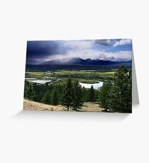 Kootenays Thunderstorm Greeting Card