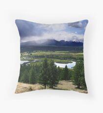 Kootenays Thunderstorm Throw Pillow
