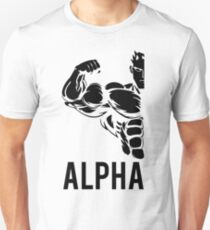 Alpha Fitness Running Muscle BodyBuilding T-Shirt
