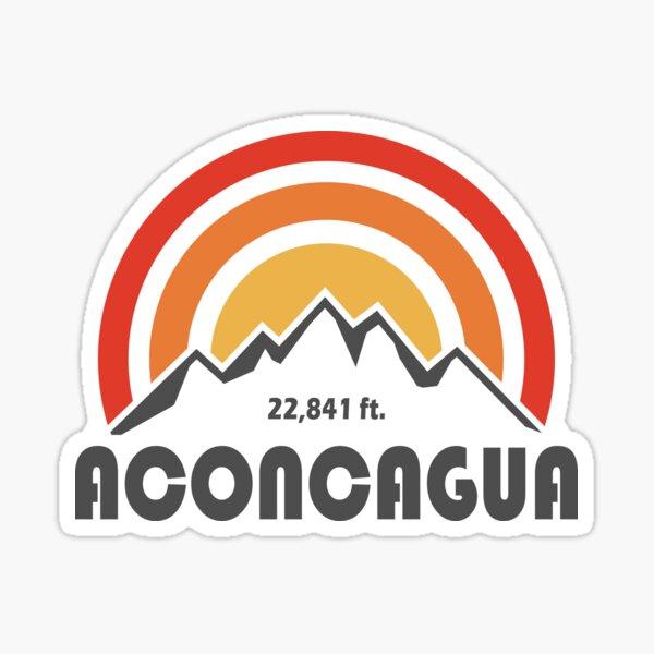 summiting mountaineering decal climbing Denali summit sticker