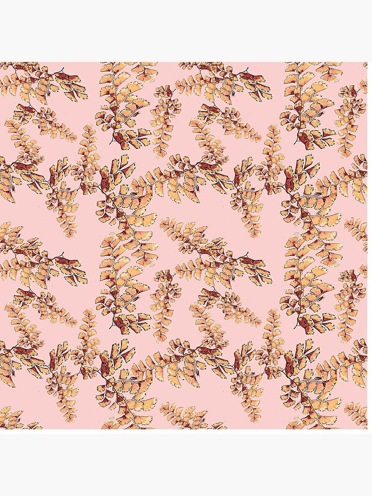 Goldene Blätter Muster von RanitasArt