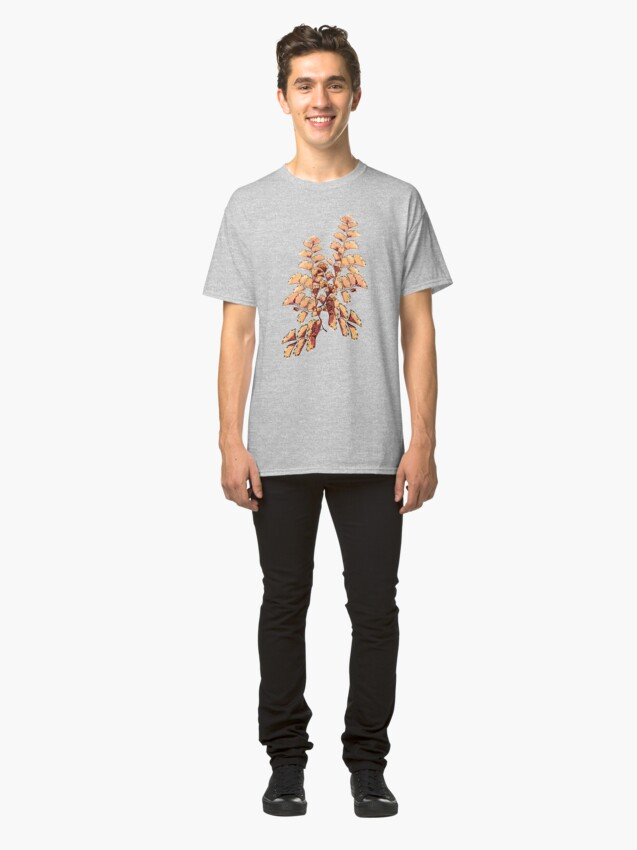 Alternative Ansicht von Goldene Blätter Muster Classic T-Shirt