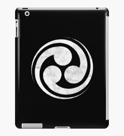 Mitsudomoe iPad Case/Skin