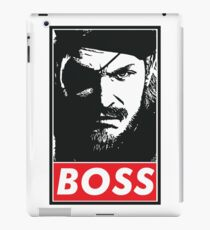 Boss iPad Case/Skin