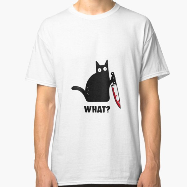 COOL CAT LOOKING FOR A KITTY  T SHIRT BIKER GANG STYLE FUNNY
