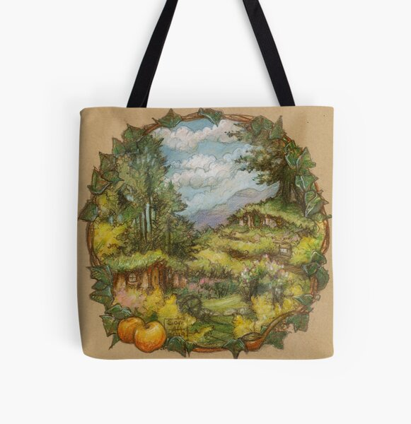 September in the Shires All Over Print Tote Bag
