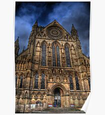 York Minster Cathedral - South Transept Poster